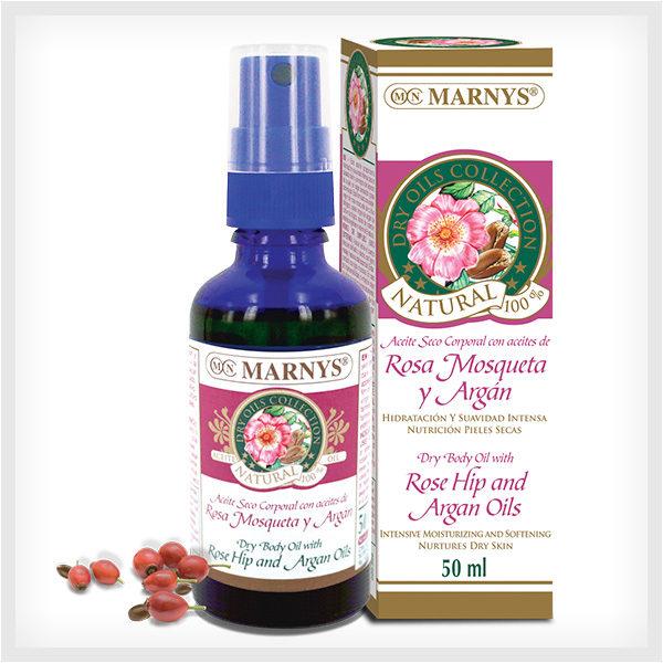 Aceite de Rosa Mosqueta y Argán